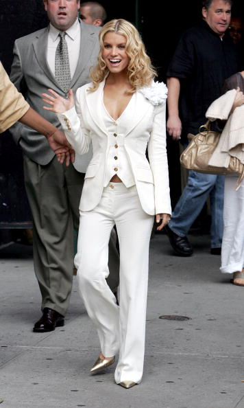 """Curly Hair「Jessica Simpson Appears At """"The Late Show"""" With David Letterman」:写真・画像(7)[壁紙.com]"""