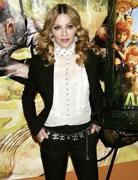 """Singer「Madonna Hosts A Special Screening Of """"Arthur And The Invisibles""""」:写真・画像(3)[壁紙.com]"""