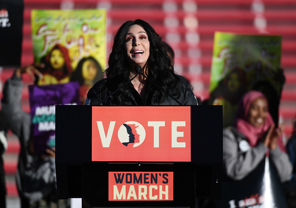 """������ ������「""""Power To The Polls"""" Voter Registration Tour Launched In Las Vegas On Anniversary Of Women's March」:写真・画像(1)[壁紙.com]"""