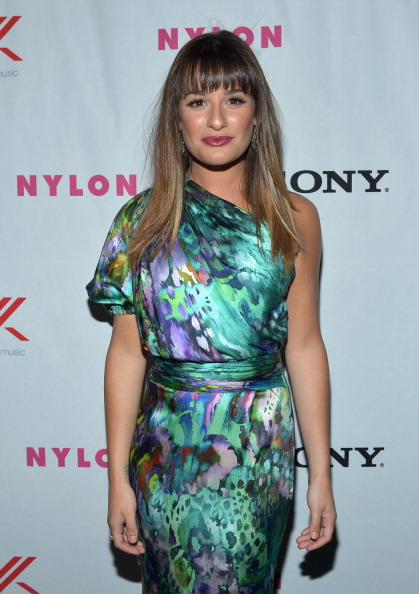 Two-Toned Hair「NYLON + And Sony X Headphones  September TV Issue Launch Event With Cover Star, Lea Michele」:写真・画像(3)[壁紙.com]