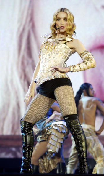 "Singer「Final dress rehearsal for Madonna's ""Re-Invention"" tour」:写真・画像(15)[壁紙.com]"