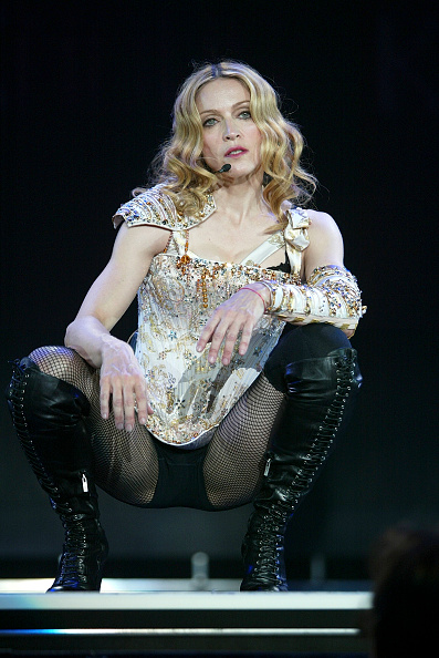女性歌手「Final dress rehearsal for Madonna's 'Re-Invention' tour」:写真・画像(8)[壁紙.com]