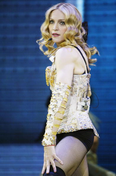 "Singer「Opening Night Of Madonna's ""ReInvention"" Tour」:写真・画像(2)[壁紙.com]"