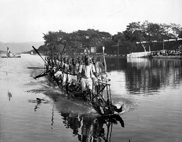 Spencer Arnold Collection「Burmese Boat Races」:写真・画像(8)[壁紙.com]