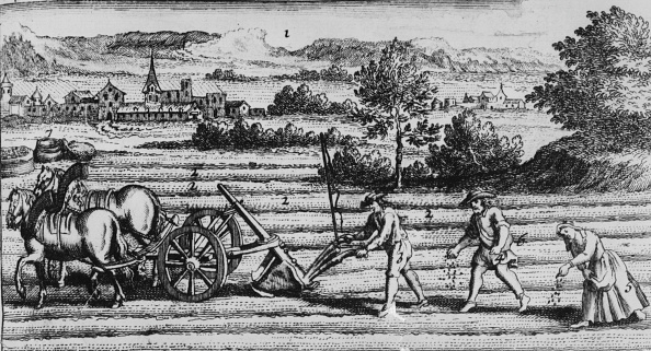 18th Century「Ploughing And Sowing」:写真・画像(0)[壁紙.com]
