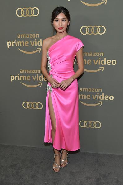 ピンク色のドレス「Amazon Prime Video's Golden Globe Awards After Party - Arrivals」:写真・画像(4)[壁紙.com]