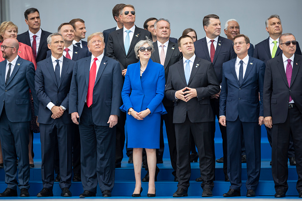 Slovenia「World Leaders Meet For NATO Summit In Brussels」:写真・画像(12)[壁紙.com]