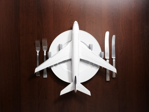 Airplane「Place setting with airplane」:スマホ壁紙(12)
