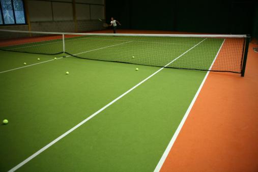 テニス「テニスの練習」:スマホ壁紙(6)