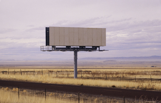 Dirt Road「Blank billboard」:スマホ壁紙(11)