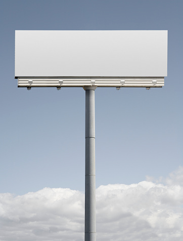 Vertical「Blank billboard」:スマホ壁紙(13)