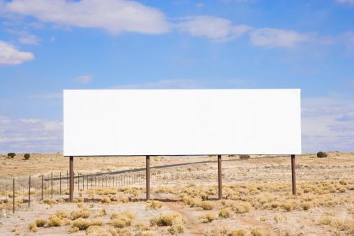 Wedding Invitation「Blank billboard in desert」:スマホ壁紙(18)