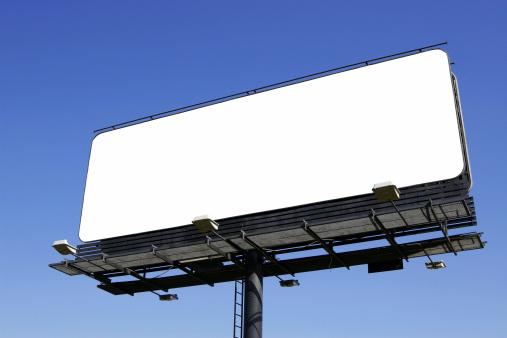 Wooden Post「Blank billboard [with work path]」:スマホ壁紙(9)