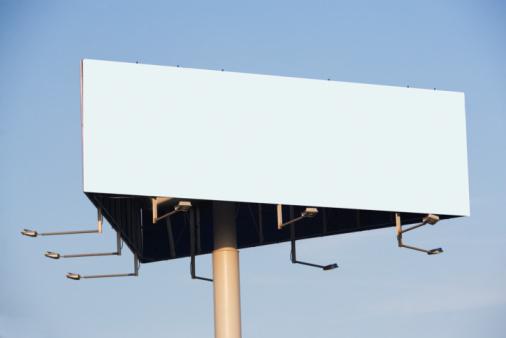 Blank Sign「Blank billboard」:スマホ壁紙(10)