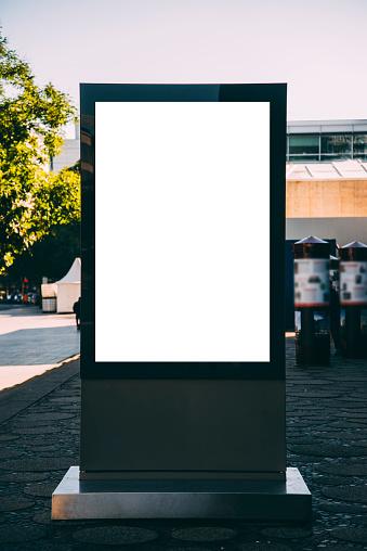 Marketing「Blank billboard」:スマホ壁紙(19)