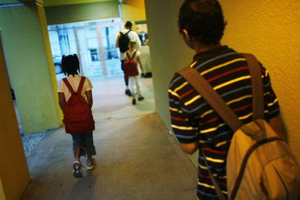 School Bus「Florida Outreach Program Helps Homeless Families Cope」:写真・画像(4)[壁紙.com]
