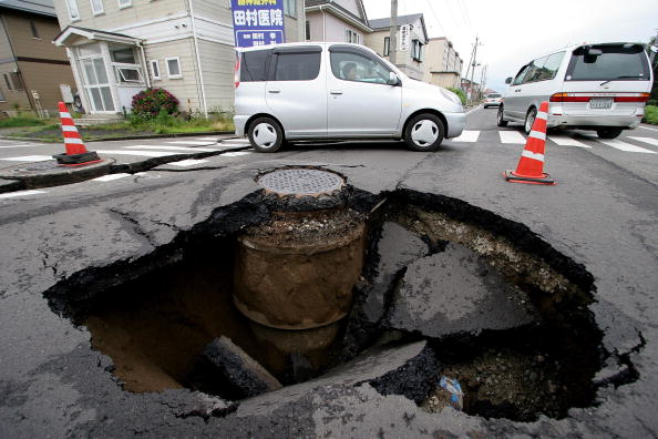 Natural Disaster「Strong Earthquake Hits Northern Japan」:写真・画像(18)[壁紙.com]