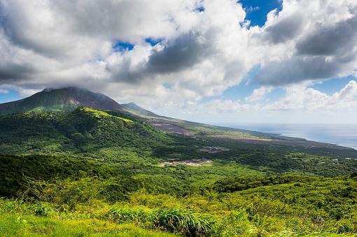 Active Volcano「British Overseas Territory, Montserrat, Soufriere Hills volcano」:スマホ壁紙(2)