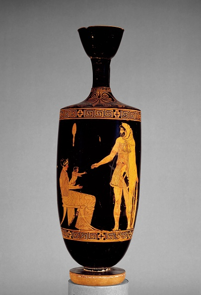 Ceramics「Attic Red-Figure Lekythos With Image Of Heracles」:写真・画像(8)[壁紙.com]