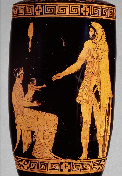 Vase「Attic Red-Figure Lekythos With Image Of Heracles」:写真・画像(9)[壁紙.com]