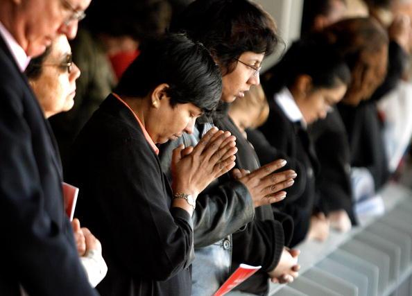 Religious Mass「Pope Benedict XVI Celebrates Mass At Nationals Park」:写真・画像(15)[壁紙.com]