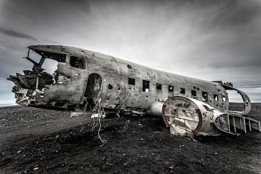 Airplane Crash「Airplane wreck in Sólheimasandur, Iceland」:スマホ壁紙(3)
