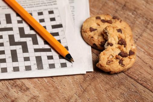 Coffee Break「Crossword puzzle」:スマホ壁紙(18)