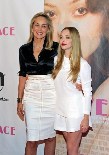 """Cream Colored Shorts「""""Lovelace"""" - Las Vegas Premiere」:写真・画像(6)[壁紙.com]"""