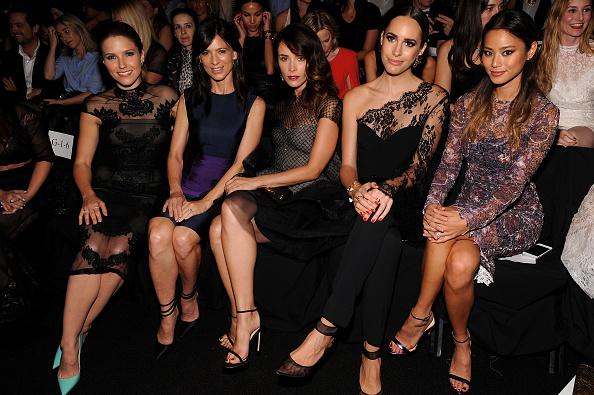 Jamie Spencer「Monique Lhuillier - Front Row - Mercedes-Benz Fashion Week Spring 2015」:写真・画像(18)[壁紙.com]