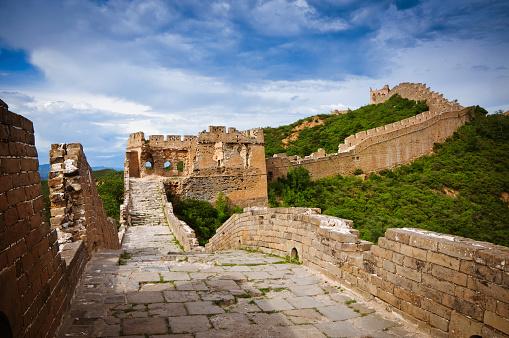 Rock Music「Broken Jinshanling Great Wall, in Beijing, China」:スマホ壁紙(3)