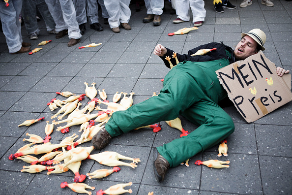Finance and Economy「Farmers Protest Against Industrial Agriculture」:写真・画像(3)[壁紙.com]