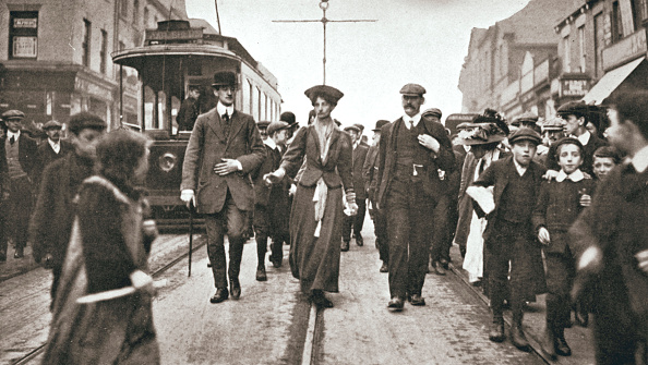 1900-1909「Lady Constance Lytton British Suffragette Newcastle 9 October 1909」:写真・画像(14)[壁紙.com]
