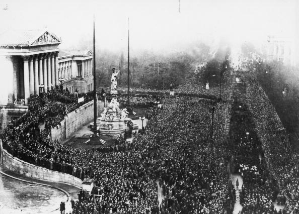Austria「Mass demonstration in front of the Viennese Parlia」:写真・画像(2)[壁紙.com]