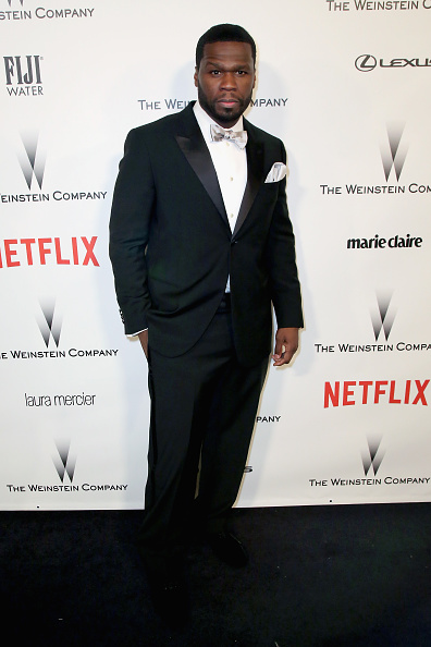 50 Cent - Rapper「The Weinstein Company & Netflix's 2015 Golden Globes After Party Presented By FIJI Water, Lexus, Laura Mercier And Marie Claire - Red Carpet」:写真・画像(12)[壁紙.com]