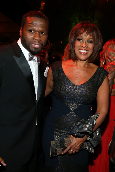 50 Cent - Rapper「The Weinstein Company & Netflix's 2015 Golden Globes After Party Presented By FIJI Water, Lexus, Laura Mercier And Marie Claire - Inside」:写真・画像(5)[壁紙.com]
