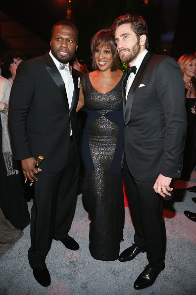 50 Cent - Rapper「The Weinstein Company & Netflix's 2015 Golden Globes After Party Presented By FIJI Water, Lexus, Laura Mercier And Marie Claire - Inside」:写真・画像(9)[壁紙.com]