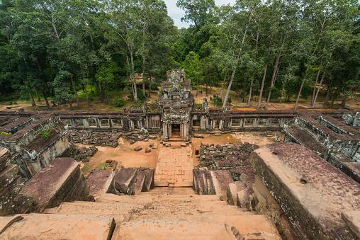 Ta Prohm Temple「Ta Prohm temple at Angkor」:スマホ壁紙(15)