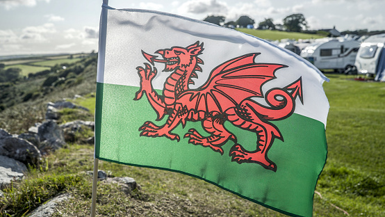Dragon「Welsh Flags.」:スマホ壁紙(12)