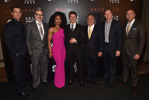 """National Theatre Management Association「CinemaCon 2018 - Will Rogers """"Pioneer Of The Year"""" Dinner Honoring Tom Cruise」:写真・画像(8)[壁紙.com]"""