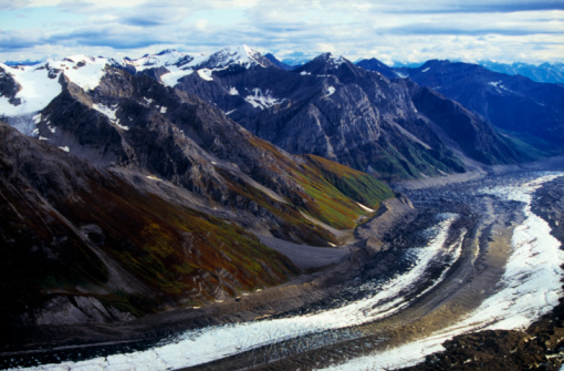 Kennicott Glacier「Kennicott and Root Glaciers and the Wrangell Mountains」:スマホ壁紙(10)
