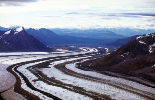 Kennicott Glacier「Kennicott and Root Glaciers and the Wrangell Mountains」:スマホ壁紙(15)
