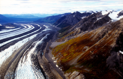 Kennicott Glacier「Kennicott and Root Glaciers and the Wrangell Mountains」:スマホ壁紙(19)