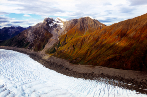Kennicott Glacier「Kennicott and Root Glaciers and the Wrangell Mountains」:スマホ壁紙(18)
