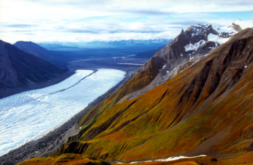 Kennicott Glacier「Kennicott and Root Glaciers and the Wrangell Mountains」:スマホ壁紙(12)