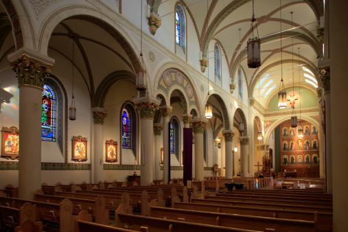 Santa Fe - New Mexico「Loretto Chapel」:スマホ壁紙(15)