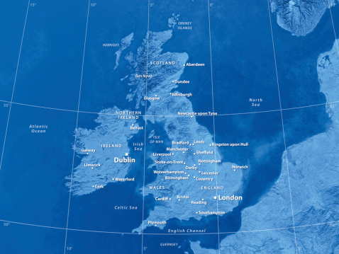 Latitude「Map Great Britain」:スマホ壁紙(12)