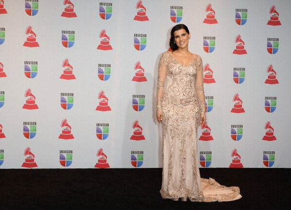 Train - Clothing Embellishment「The 13th Annual Latin GRAMMY Awards - Press Room」:写真・画像(13)[壁紙.com]