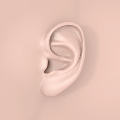 Sensory Perception「A human ear close-up」:スマホ壁紙(0)