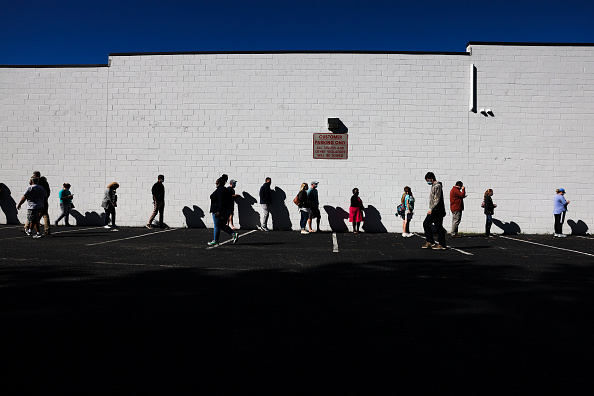 In A Row「Record Number Of South Carolina Residents Take Advantage Of Early Voting」:写真・画像(18)[壁紙.com]