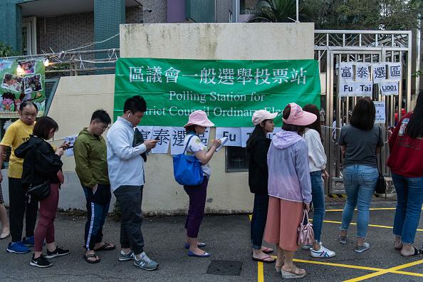 Billy H.C「Hong Kong District Council Election」:写真・画像(1)[壁紙.com]